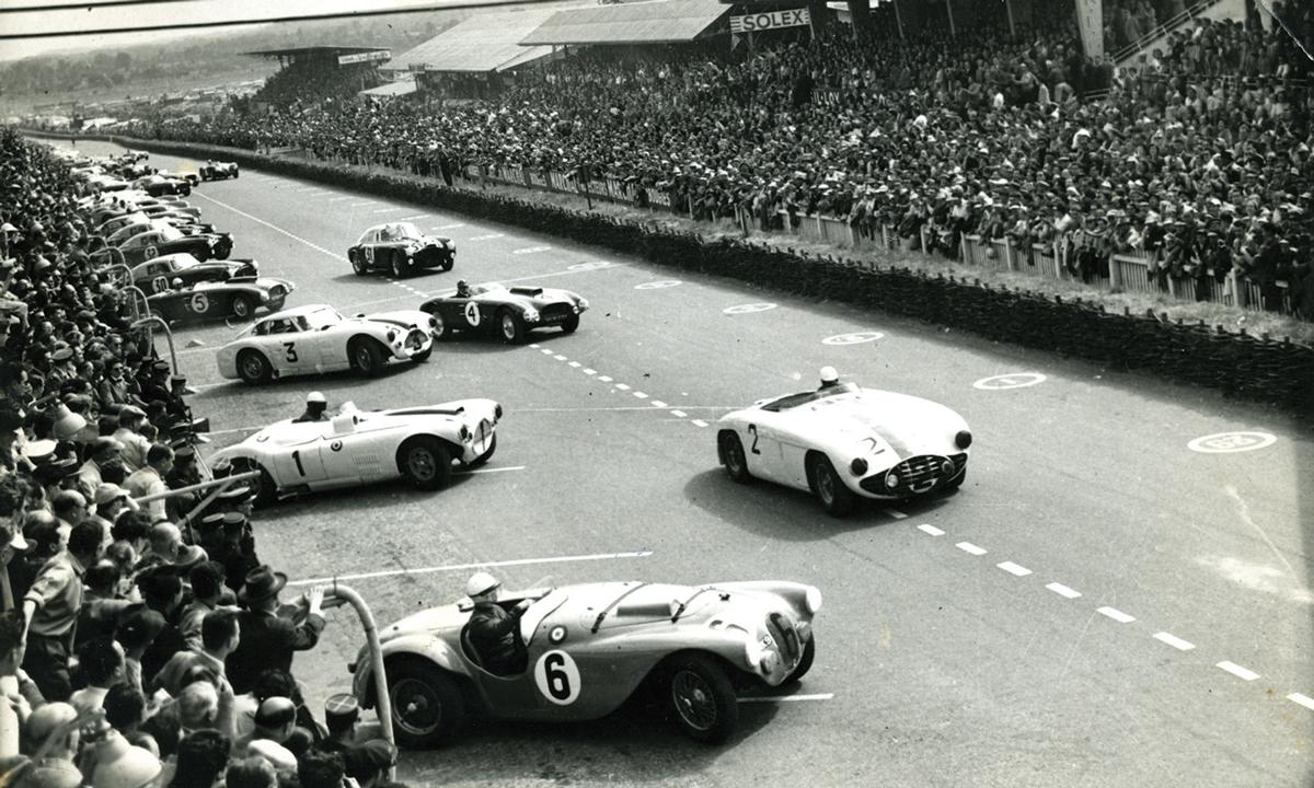1953_le_mans_start